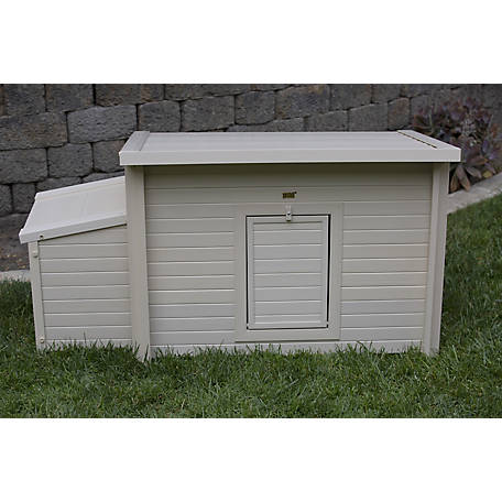 New Age Pet Fontana Chicken Barn- Made with ECOFLEX- Standard, ECHK103-B