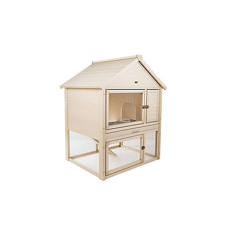 Ecoflex Huntington Townhouse Rabbit Hutch At Tractor Supply Co