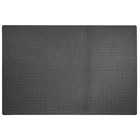 Best Step Anti-Fatigue Flooring Interlocking Mats, 6-Pack, BS949-6T