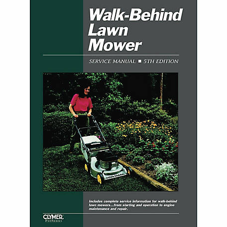 Clymer Walk-Behind Lawn Mower Ed 5 Service Manual