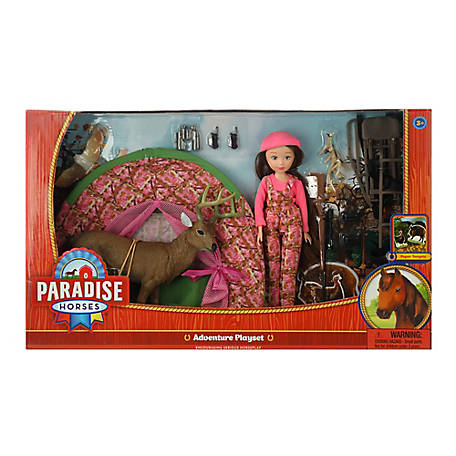 Paradise Horses Hunting Play Set, 10 in., TSC7943