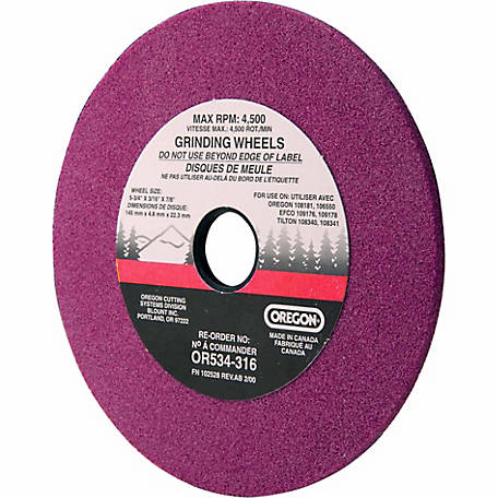Oregon 3/16 in. Grinding Wheel