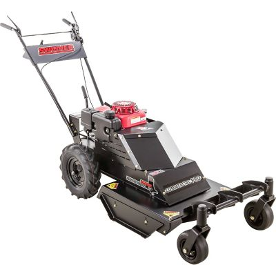 Swisher 24 in. 10.2 HP Honda Commercial Pro Walk-Behind Rough-Cut Mower with Casters