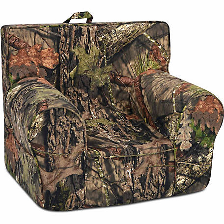 Mossy Oak Nativ Living Country Grab-n-Go Foam Chair with Handle