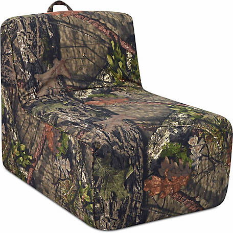 Mossy Oak Nativ Living Tween Lounger with Handle, Mossy Oak Country