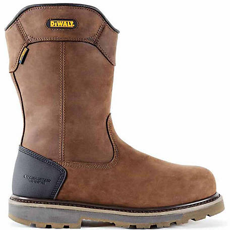 DeWALT Men's Tungsten Pull-On 12 in. Aluminum Toe Waterproof Work Boot