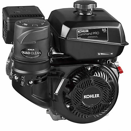 Kohler Command PRO Commercial Series 9.5 HP CH395-3149 Engine with Keyway, Tapped 7/16-20 UNF