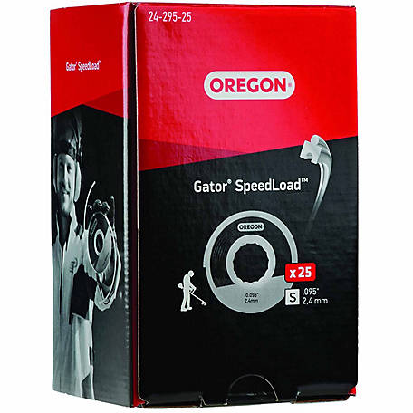 Oregon Gator SpeedLoad Disc for 4.25 in. heads (0.095), Pack of 25