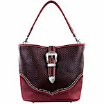Montana West Buckle Design Concealed Handbag Collection