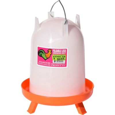 Buy Tuff Stuff Extended Leg Poultry Drinker; 1 gal Online