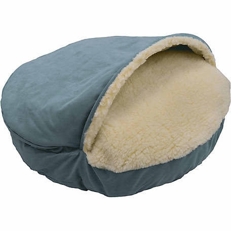 Snoozer Pets Luxury Orthopedic Micro Suede Cozy Cave