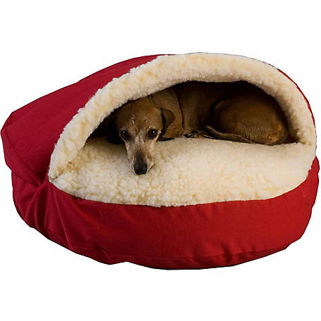 Snoozer Pets Orthopedic Luxury Micro Suede Cozy Cave Dog Bed
