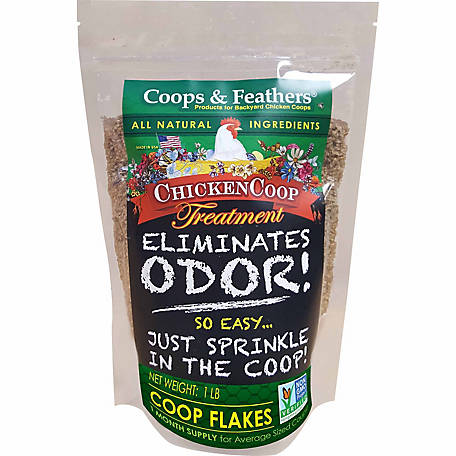 Innovation Pet Coop Flakes Odor Eliminator, 1 lb.