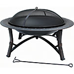 Bond 35 in. Round Steel Fire Pit