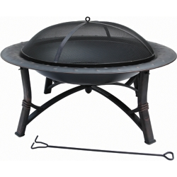 Shop 35 in. Fire Pit with Lid at Tractor Supply Co.