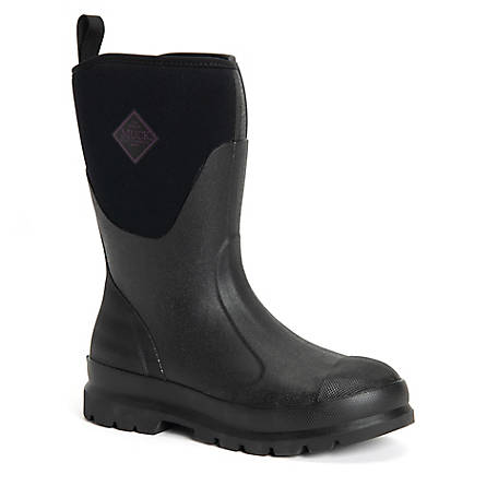 Muck Boot Company Women's Chore Mid Classic Boot, Black