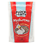 Flock Party Mealworms, 10 oz.
