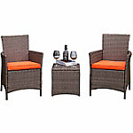 Festival Depot Celia 3-Piece Chair & Side Table Set