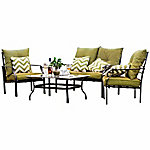 Festival Depot Elizabeth 4-Piece Leisure Set