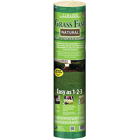 Grass Fast Natural Turf Starter Blanket