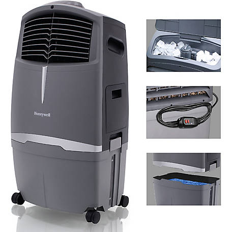 Honeywell 525 CFM Indoor/Outdoor Evaporative Air Cooler (Swamp Cooler) w/ Remote Control