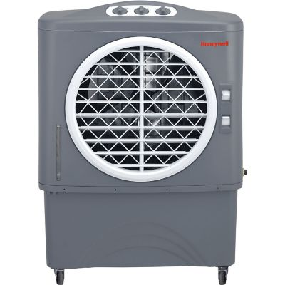 Honeywell 1062 CFM Indoor/Outdoor Evaporative Air Cooler (Swamp Cooler) w/ Mechanical Controls