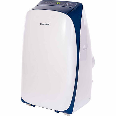 Honeywell Portable Air Conditioner with Dehumidifier & Fan, Rooms up to 700 sq. ft., Blue/White
