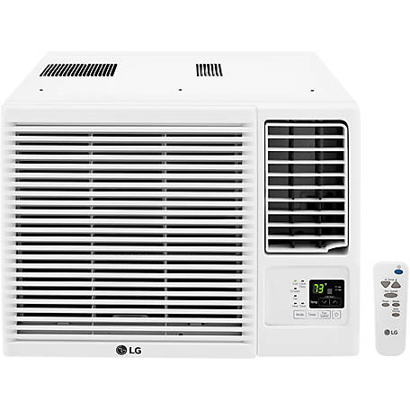 LG 12,000 BTU 230V Air Conditioner with 11,200 BTU Supplemental Heat Function