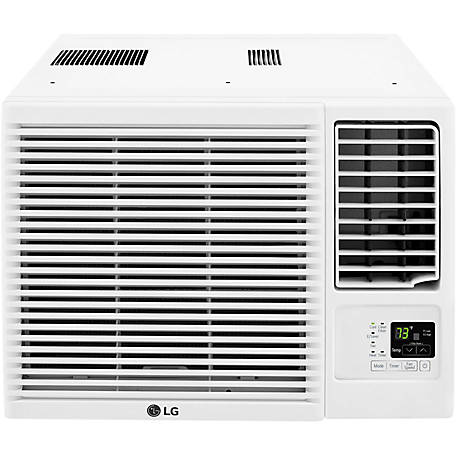LG 7,500 BTU Air Conditioner with 3,850 BTU Supplemental Heat Function