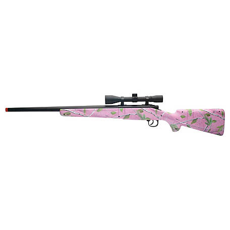 New-Ray Rifle Light/Sound Pink Camo, 66246A