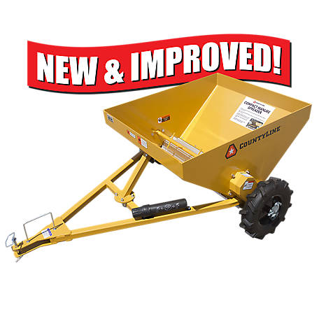 CountyLine Compact Manure Spreader, MS10