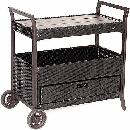 Hanover Outdoor Bar Cart