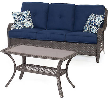 Hanover Orleans 2-Piece Patio Set