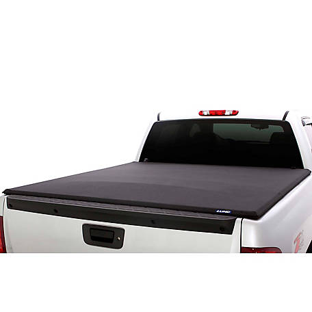 Lund Elite Tri Fold Tonneau Black 2007 2017 Toyota Tundra 6 5 Ft Bed 958121 At Tractor Supply Co