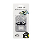 Nite Ize Financial Tool Multi-Tool Wallet, Stainless
