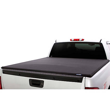Lund Elite Roll-Up Tonneau, Black, 2002-2017 Dodge Ram 1500, 5.5 ft. Bed