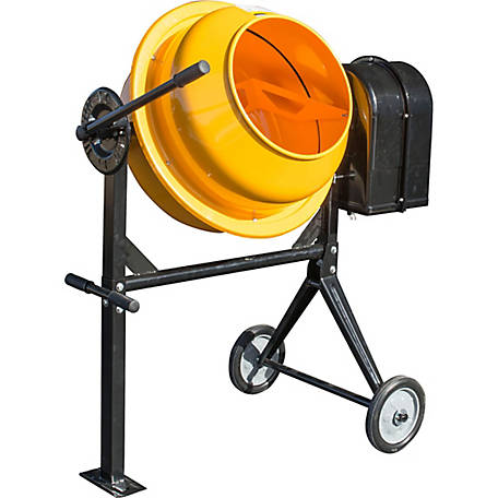 Pro-Series 3.5 cu. ft. Electric Cement Mixer