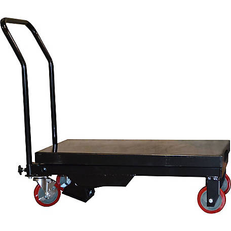 Black Bull Hydraulic Table Cart