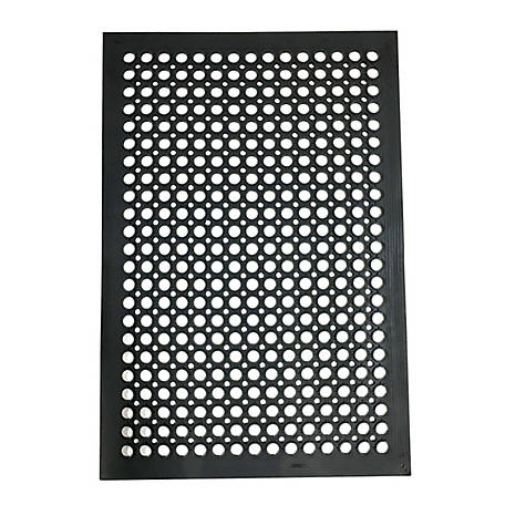Buffalo Tools 2 x 3 ft. Industrial Rubber Floor Mat