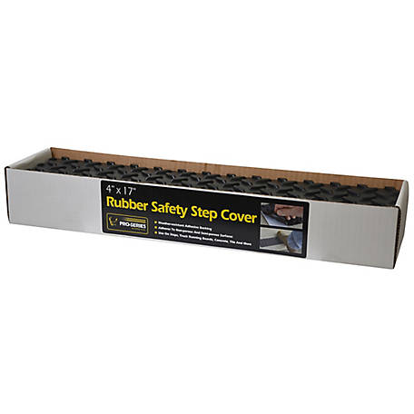Pro Series Pro-Series Adhesive Rubber Step Cover, 4 x 17 in (12 Pack), RSSTEPBOX