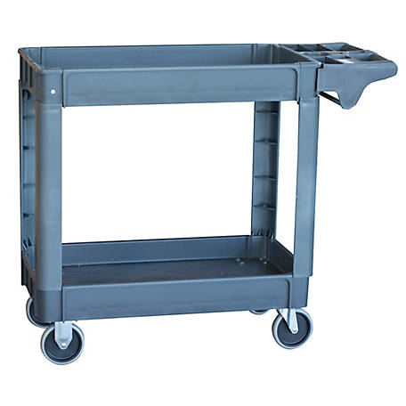 Pro Series Pro-Series Two-Shelf Heavy-duty Utility Cart, 550 lb. Capacity, SCART550