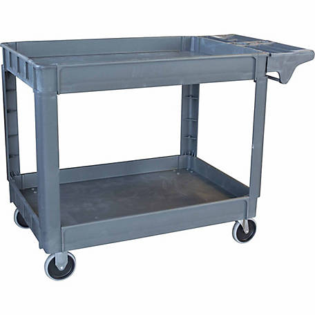 Pro-Series XL Two-Shelf Heavy-duty Utility Cart, 550 lb. Capacity