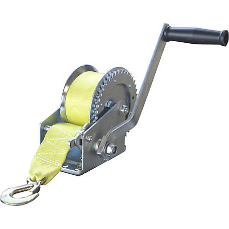 Sportsman Series 1400 lb. Hand Winch with Hook