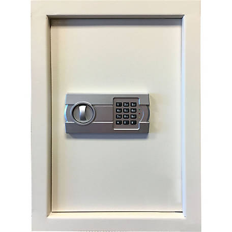 Sportsman Series Wall Safe with Electronic Lock, Beige