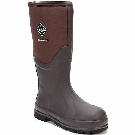 Muck Boot Company Men's Chore Cool Tall Steel Toe Boot