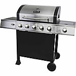 Dyna-Glo 5-Burner Open-Cart Propane Gas Grill