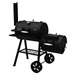 Dyna-Glo 730 sq. in. Char Barrel and Offset Smoker
