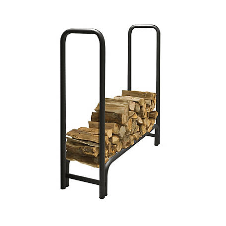 Pleasant Hearth 4 ft. Heavy-Duty Log Rack