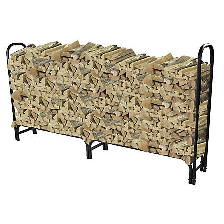 Pleasant Hearth 8 ft. Log Rack