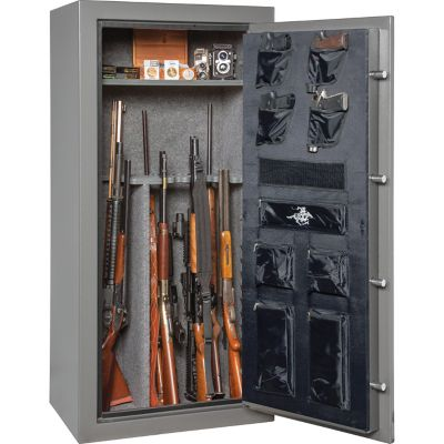 Winchester 24 Long Gun Capacity Safe Granite Electronic Lock 45 Minute Fire Rating At 1 400 Deg Tractor Supply Co